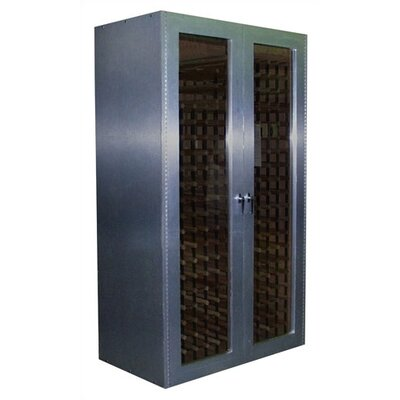 Vinotemp 700 Brushed Aluminum Wine Cooler Cabinet