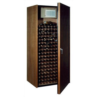1733440 Single Door Oak Wine Cooler Cabinet