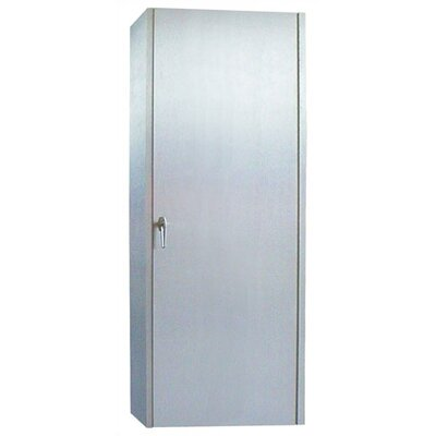 250 Brushed Aluminum Wine Cooler Cabinet