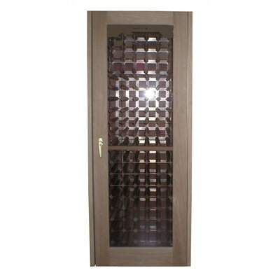 250 Oak Wine Cooler Cabinet with Glass Door