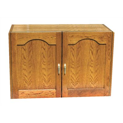 Vinotemp 2 Door Oak Wine Cooler Credenza with Furniture Trim