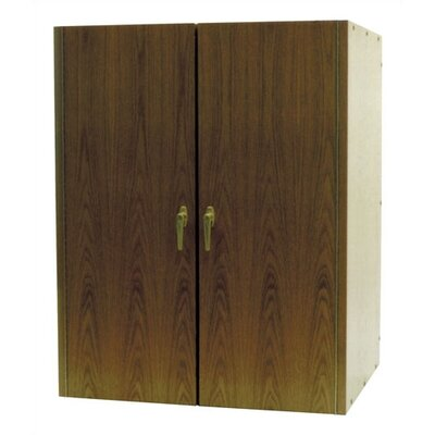 Vinotemp 2 Door Oak Wine Cooler Cabinet
