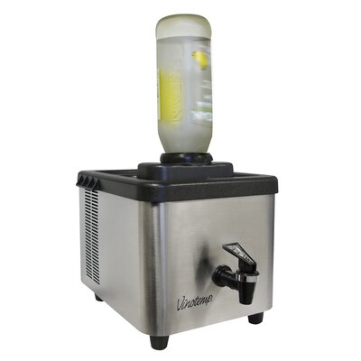 Vinotemp 1 Bottle Single Zone Thermoelectric Shot Chiller & Dispenser