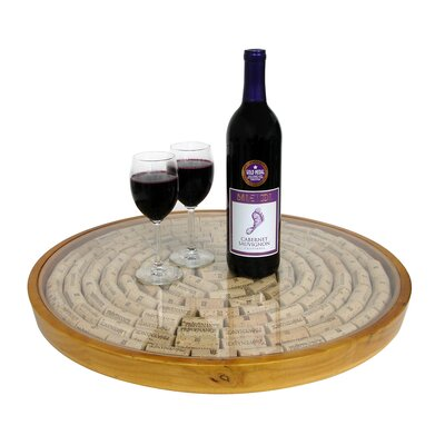 Vinotemp Epicureanist Lazy Susan Cork Display Kit