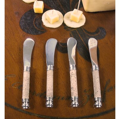 Vinotemp Cheese Spreader with Cork Handle