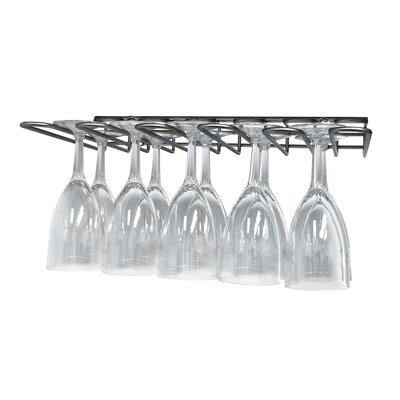 Vinotemp Epicureanist 15 Bottle Under Cabinet Wine Glass Rack