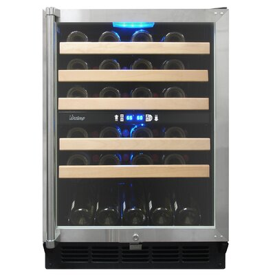 Vinotemp 45 Bottle Dual-Zone Wine Cooler