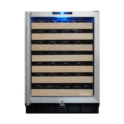 50 Bottle Single Zone Wine Refrigerator