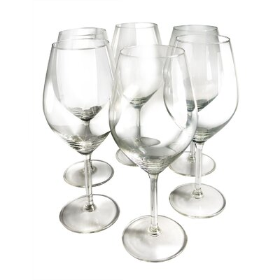 Vinotemp Illuminati 21 oz. Red Wine Glass (Set of 6)