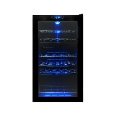 Vinotemp 29 Bottle Dual-Zone Touch Screen Wine Cooler
