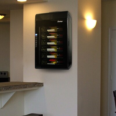 Vinotemp 6 Bottle Wall-Mounted Thermoelectric Wine Cooler