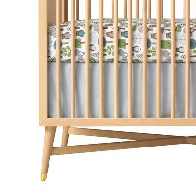 DwellStudio Owls Fitted Crib Sheet
