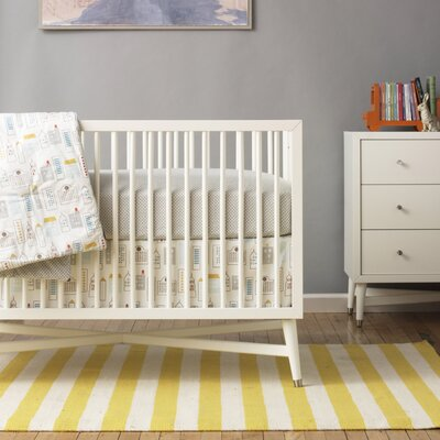 DwellStudio Mid-Century French White Crib