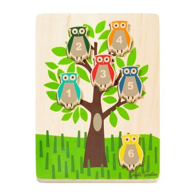 DwellStudio Owls Wooden Puzzle