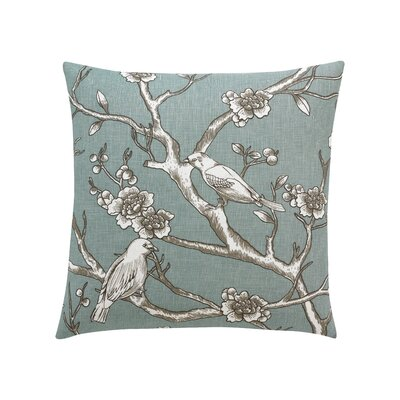 DwellStudio Vintage Blossom Azure Pillow