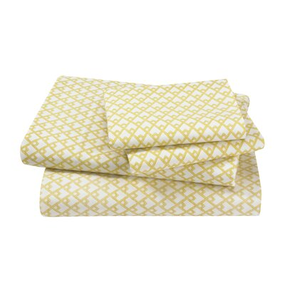 DwellStudio Masala Citrine Sheet Set