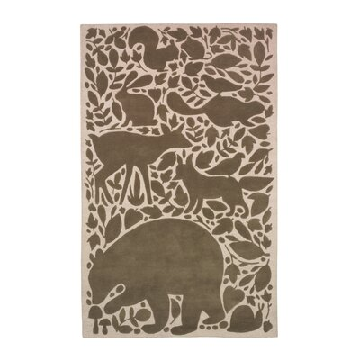 DwellStudio Woodland Tumble Feet Rug