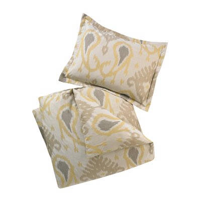DwellStudio Batavia Citrine Full / Queen Duvet Set