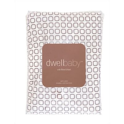 DwellStudio Transportation Dove Grey Additional Fitted Crib Sheet
