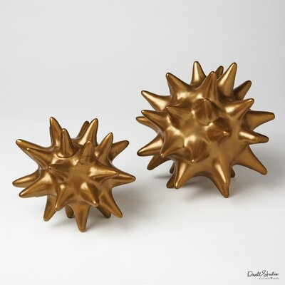 DwellStudio 2 Piece Urchin Objet Sculpture