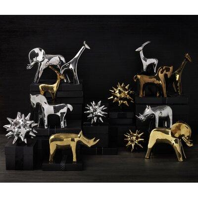 DwellStudio Elephant Gold Objet
