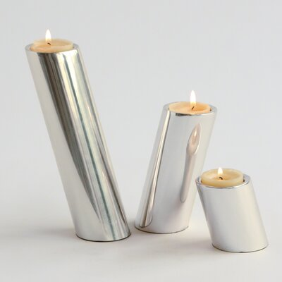 DwellStudio 3 Piece Slanted Candlestick Set