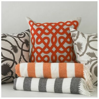 DwellStudio Labyrinth Persimmon Pillow