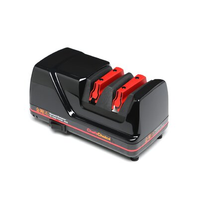 Professional Diamond Electric Knife Sharpener for Asian Knives in Black