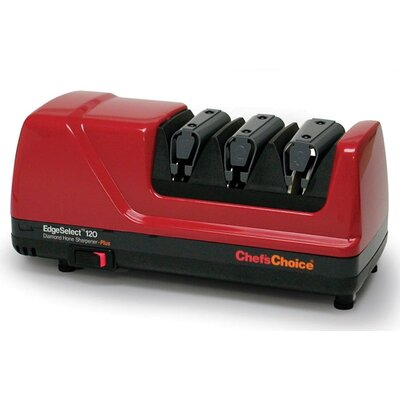Chef's Choice Diamond Hone EdgeSelect Plus Knife Sharpener - Red