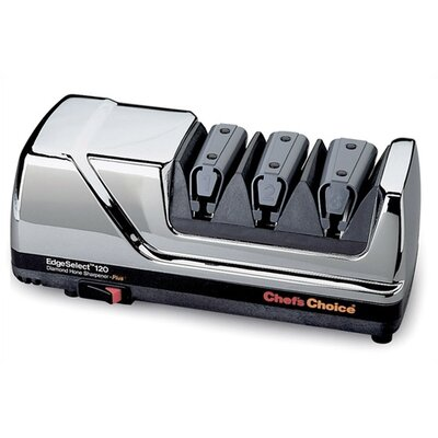 Chef's Choice Diamond Hone EdgeSelect Plus Knife Sharpener - Chrome