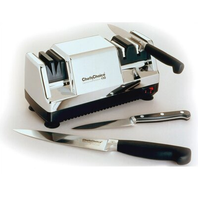 Chef's Choice Diamond Hone Multi-Stage Knife Sharpener - Chrome