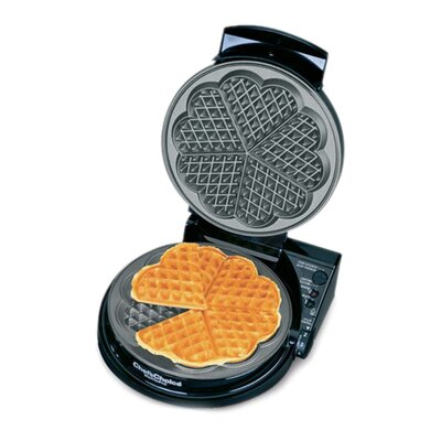 "Chef's Choice International WafflePro Taste / Texture Select Traditional ""Five-of-Hearts"""