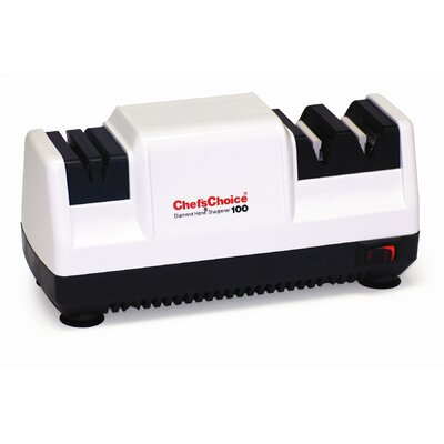Diamond Hone Deluxe M100 Knife Sharpener in White