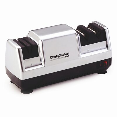 Chef's Choice Diamond Hone Deluxe M100 Knife Sharpener in Platinum