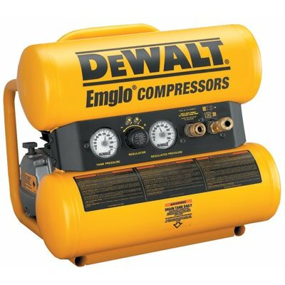 DeWalt Hand Carry-Electric Compressors -  Air Compressor  1 HP Electric 2 Gallon 1750 RPM