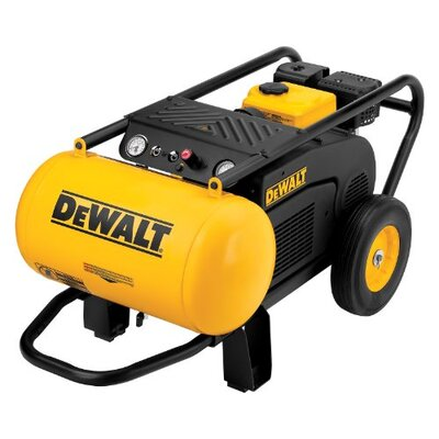 DeWalt 10.5 Gallon 196cc (6.5 HP), 150 PSI Air Compressor with Roll Cage