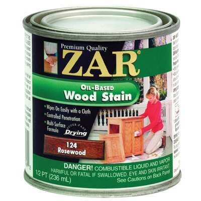 UGL Zar® Rosewood Oil Based Stain Wood