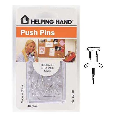 HelpingHand Push Pins 50110