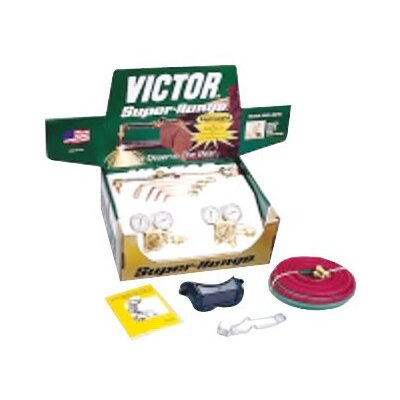 Victor Super Range® VanGuard™ Welding and Cutting Outfits - dlx super-range 350-300w/100fc (vanguard)