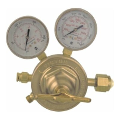 Victor SR 450 Series Single Stage Heavy Duty Regulators - sr450d-580 regulator50 series heavy duty reg