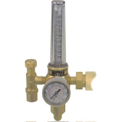 Victor HRF 2400 Single Stage Regulator/Flowmeters - hrf2480-580regulator/flowmeter