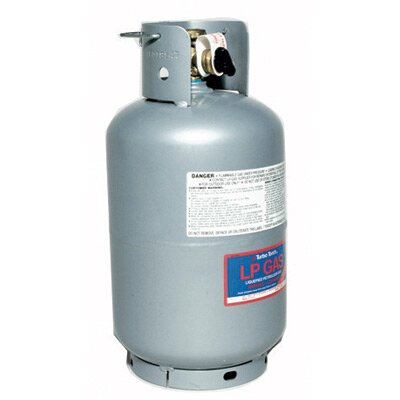 Victor TurboTorch  T-10PS-MT 10 Liter Refillable Propane Cylinder With CGA 510 POL Connection