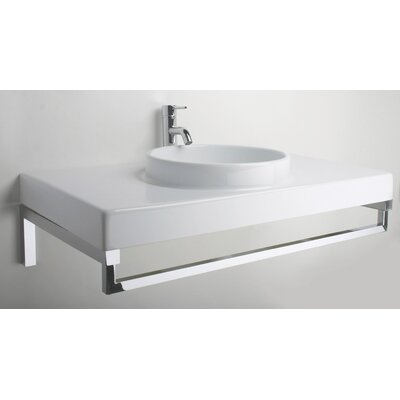 LaToscana Planet 85 Above Counter/Wall Mount Bathroom Sink