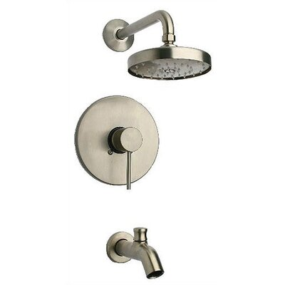 Elba Thermostatic Tub And Shower Faucet Set Wayfair