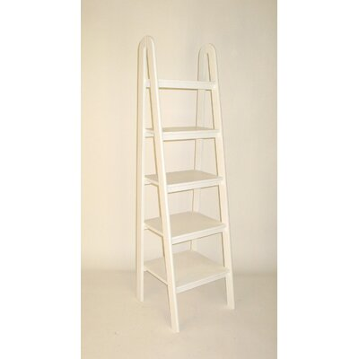 Wayborn Ladder Shelf in White