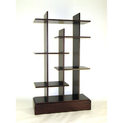 Modern Wood Shelves : Wayborn Modern Skyline Shelf This modern wooden shelf from Wayborn is ...