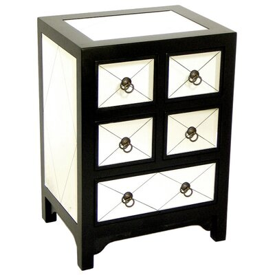 <strong>Wayborn</strong> Helene Small 5 Drawer Chest