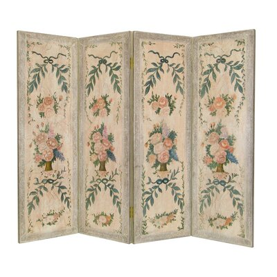 Wayborn Flowers in Vases Room Divider