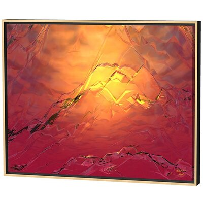 Menaul Fine Art Red Hot Ice Limited Edition Framed Canvas - Scott J. Menaul