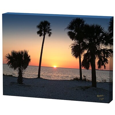Menaul Fine Art Sunset Trees Limited Edition Canvas - Scott J. Menaul
